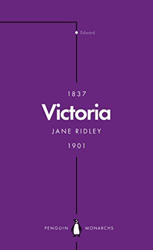 Victoria (Penguin Monarchs) By Jane Ridley