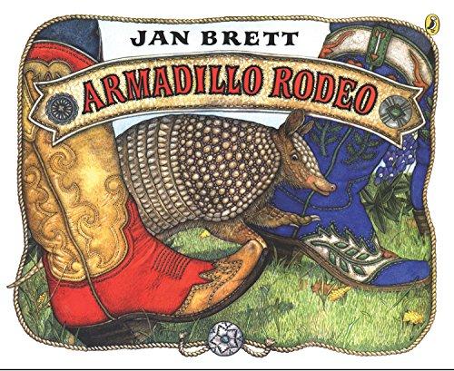 Armadillo Rodeo By Brett Jan