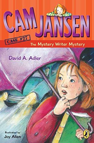 CAM Jansen: CAM Jansen and the Mystery Writer Mystery #27 By David A Adler