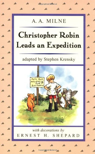 Christopher Robin Leads an Expedition (Puffin Easy-To-Read) By A A Milne