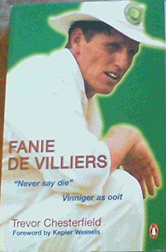 Fanie De Villiers By Trevor Chesterfield