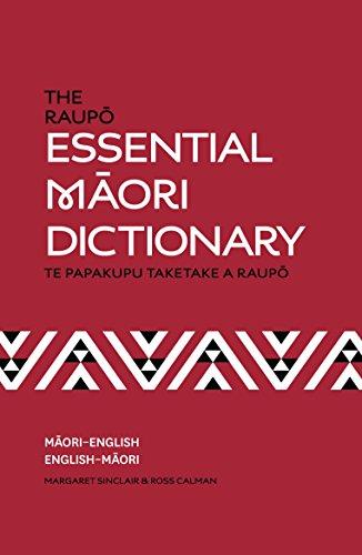 The Raupo Essential Maori Dictionary By Ross Calman