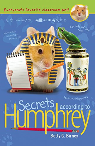 Secrets According to Humphrey By Betty G Birney