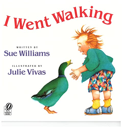 I-Went-Walking-A-Voyager-Hbj-Book-by-Williams-Sue-Paperback-Book-The-Cheap