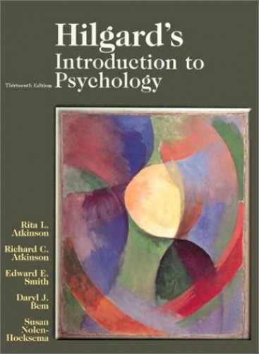 Introduction to Psychology by Rita L. Atkinson