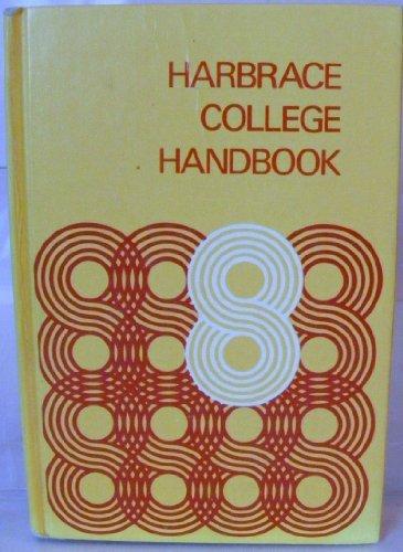 Harbrace College Handbook By John C. Hodges