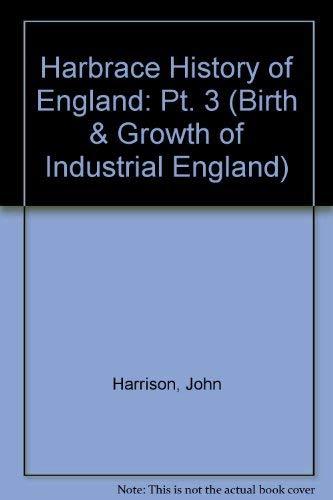 Harbrace History of England By John Harrison