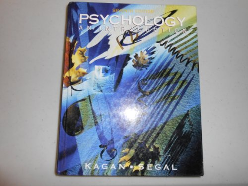 Psychology By Jerome Kagan