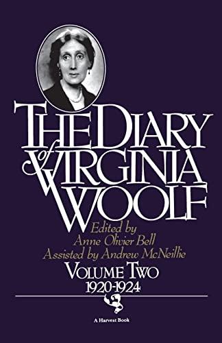 The Diary of Virginia Woolf, Volume 2 By Virginia Woolf
