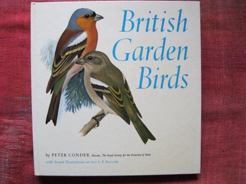British Garden Birds By Peter Conder