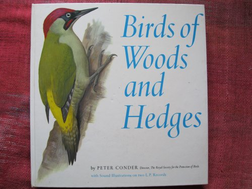 Birds of Woods and Hedges By Peter Conder
