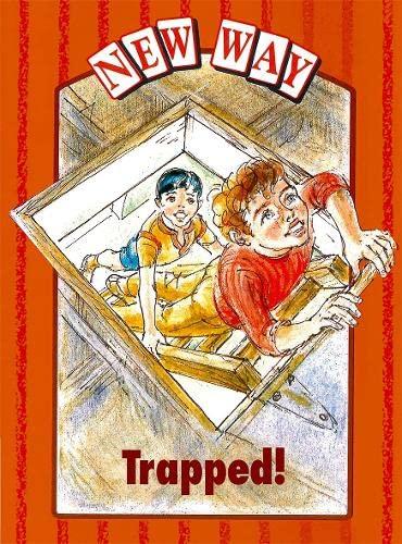 New Way Orange Level Platform Book - Trapped! By Griselda Gifford