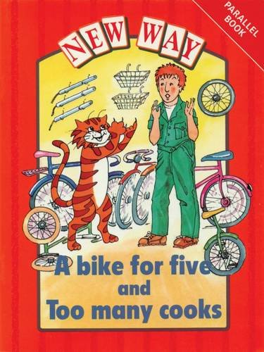 New Way Red Level Parallel Book - A Bike for Five and Too Many Cooks By Hannie Truijens