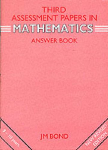 Mathematics By J. M. Bond