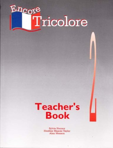 Encore Tricolore By Sylvia Honnor
