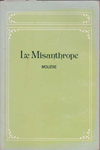 Misanthrope By Moliere