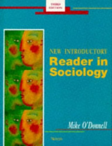 New Introductory Reader in Sociology By Edited by Mike O'Donnell