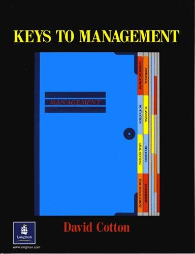 Keys to Management Paper By David Cotton