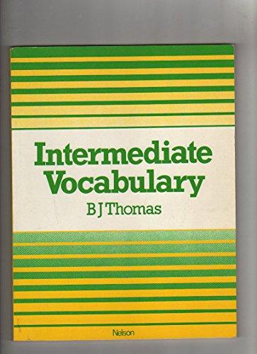 Intermediate Vocabulary Paper By B.J. Thomas