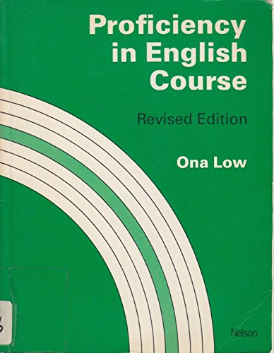 Proficiency in English Course By Ona Low