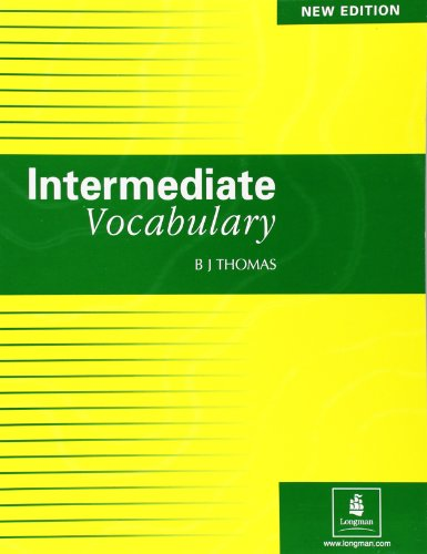 Intermediate Vocabulary Paper (Skills) By B.J. Thomas