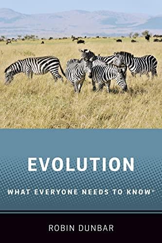 Evolution By Robin Dunbar