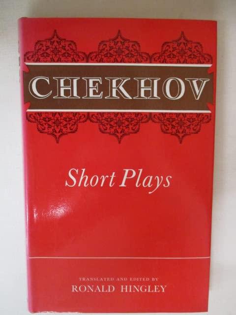 Short Plays By Anton Pavlovich Chekhov