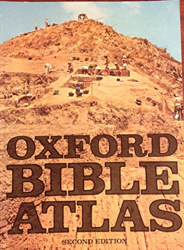 Oxford Bible Atlas By Edited by Herbert G. May