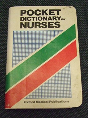 Pocket Dictionary for Nurses By Rosalind Fergusson