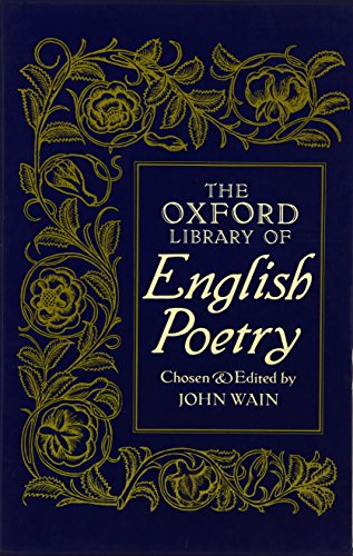 The Oxford Library of English Poetry par John Wain