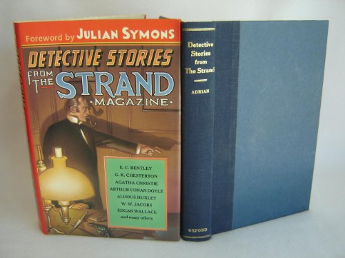 """Detective Stories from """"The Strand"""" By Edited by Jack Adrian"""