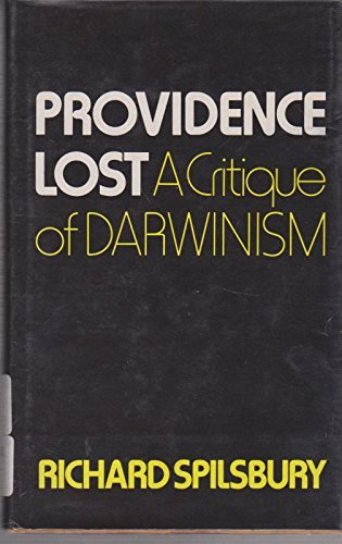 Providence Lost By Richard Spilsbury
