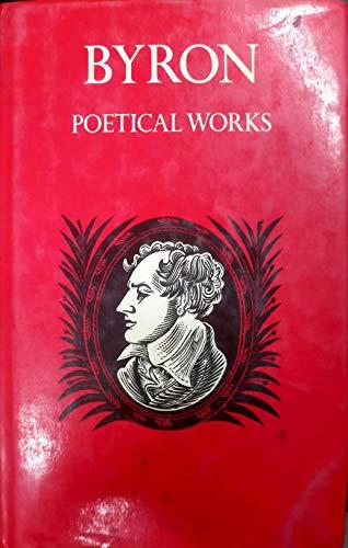 Poetical Works By Lord George Gordon Byron