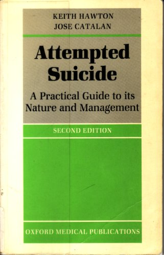 Attempted Suicide By Keith Hawton