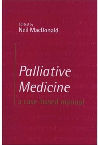 Palliative Medicine By Neil MacDonald