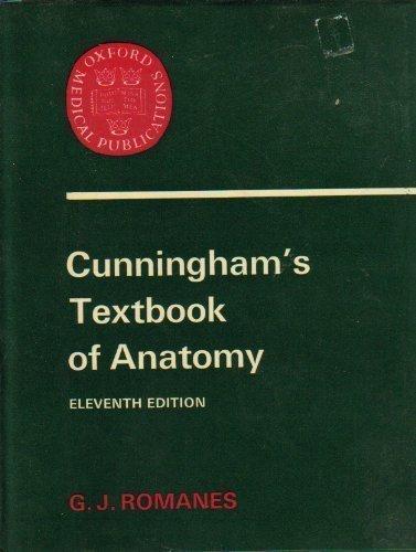 Textbook of Anatomy By Daniel John Cunningham