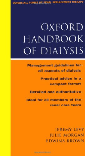 The Oxford Handbook of Dialysis By Jeremy Levy