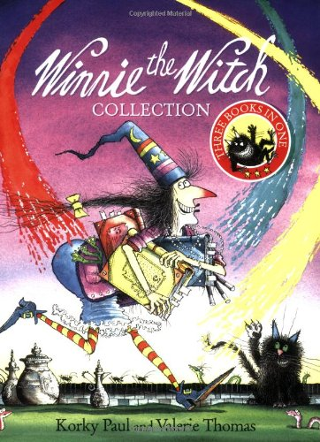 Winnie the Witch Collection Three Books in One By Valerie Thomas