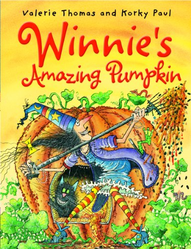 Winnie's Amazing Pumpkin (Paperback & CD) By Valerie Thomas