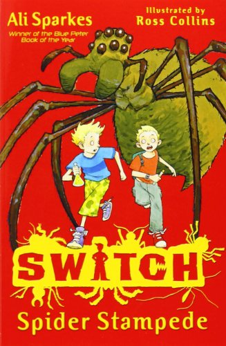 Switch: Spider Stampede by Ali Sparkes