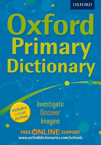 Oxford Primary Dictionary By aa vv