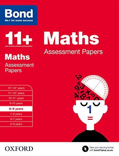 Bond 11+: Maths: Assessment Papers By J M Bond
