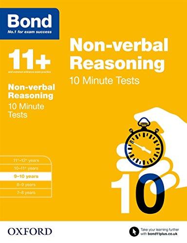Bond 11+: Non-verbal Reasoning: 10 Minute Tests von Alison Primrose