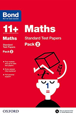 Bond 11+: Maths: Standard Test Papers By Sarah Lindsay