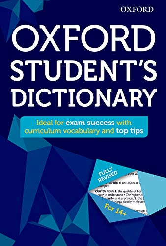 Oxford Student's Dictionary (Oxford Dictionary) By Oxford Dictionaries