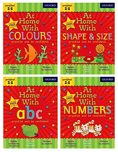 At Home with First Skills Pack (Ages 3-5) By Lida Kindersley