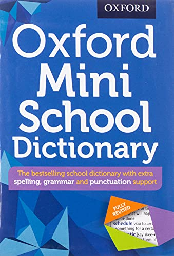 Oxford Mini School Dictionary By Oxford Dictionaries