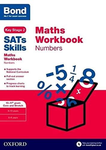 Bond SATs Skills: Maths Workbook: Numbers 10-11 Years von Andrew Baines