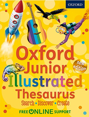 Oxford Junior Illustrated Thesaurus by Oxford Dictionaries