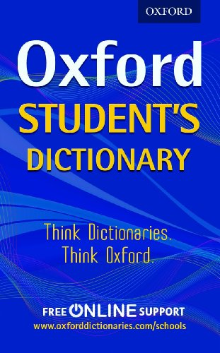 Oxford Student's Dictionary By Oxford Dictionaries
